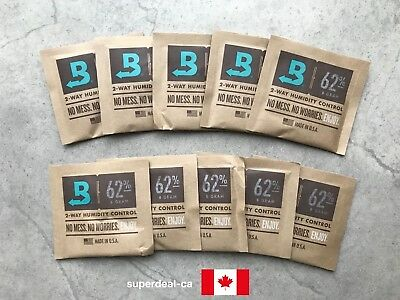 Boveda 62% RH 2-Way Humidity Control Pack (8 gram) x 10 Pack