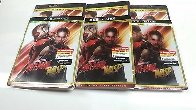 Ant-Man And The Wasp 4K Ultra HD + Blu-ray + Digital Code