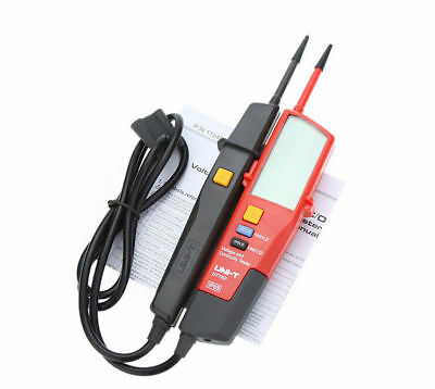 UNI-T UT18D Auto Range Voltage and Continuity Tester with LCD Backlight Date New