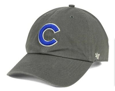 CHICAGO CUBS 47 Brand MLB Strapback Adjustable Dad Cap Hat Clean Up ... fbe2570f73a4