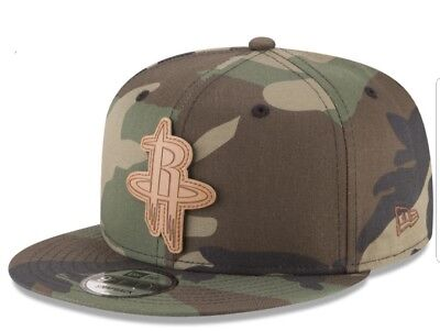 competitive price 0b20c ba213 Houston Rockets New Era NBA Sergeant Camo 9FIFTY Snapback Cap