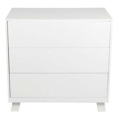 Casa 3 Draw Chest White Room Furniture High Quality Sturdy Durable New Drawer