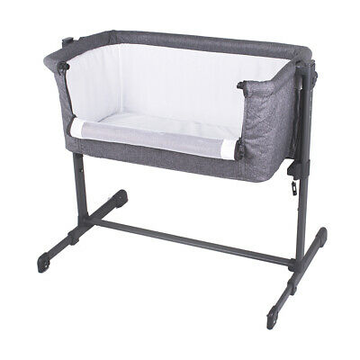 Childcare Co Sleeper Baby Bassinet Storm Cloud