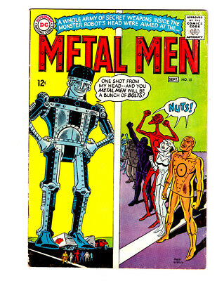 THE METAL MEN #15 in FN+ condition a 1965 Silver Age DC comic