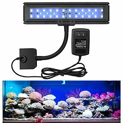 New Flexible 25-47cm LED Aquarium Light Arm Clip on Fish Tank Light Plant Lamp