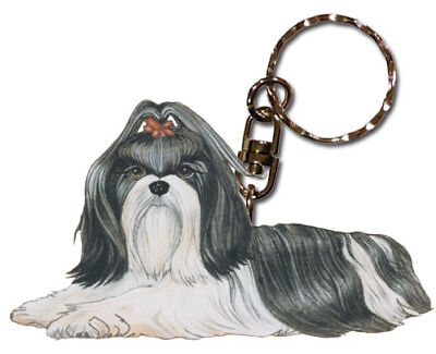 Shih Tzu Key Ring