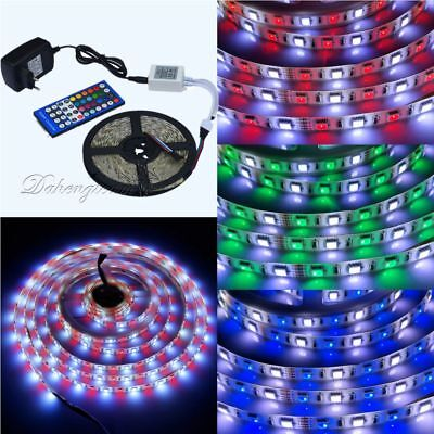 5M 5050 SMD RGB+White RGBW 60Leds/M LED Strip Light / 40Key Remote /Power Supply