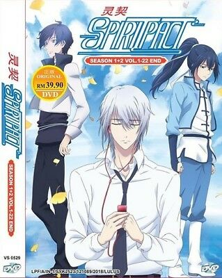 SPIRITPACT Box Set | S1+S2 | Eps 01-22 | English Subs | 2 DVDs (VS0529)
