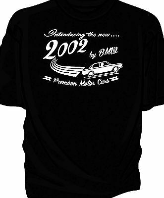 """""""Introducing The New"""" BMW 2002, Retro T-Shirt."""