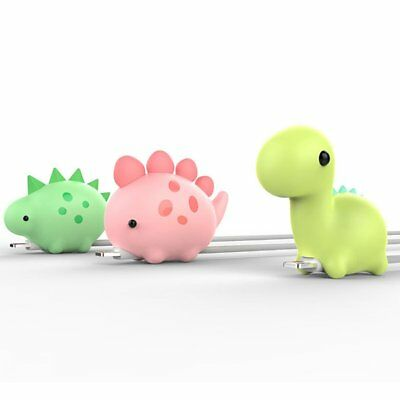 Cartoon Animal Biting Cable Cute Phone Charger Protector Soft Cord Accessories