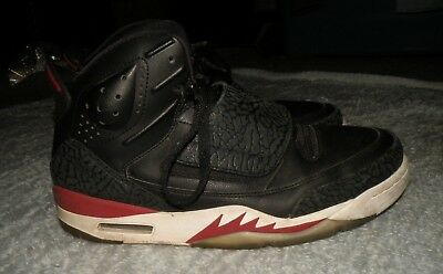 new products 4fb9c 8bcfa Mens Nike Air Jordan Son Of Mars Black Red White Sneakers sz 10.5 826612