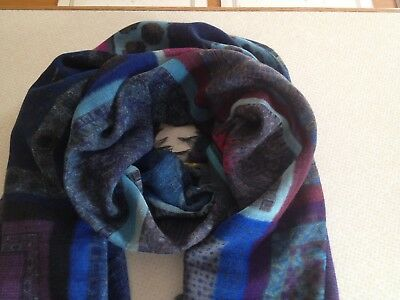 FRANCO FERRARI Multicolour Wool Scarf