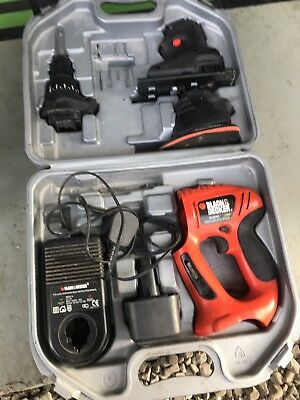 Black and Decker Job Lot Drill Jig Saw Combo Cordless Drill