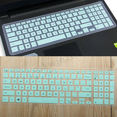 Cyan Keyboard Cover Skin Protector For Dell Inspiron 15 5000 Series Laptop New