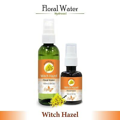 Witch Hazel Hydrosol (Floral Water) 60ml / 100ml Pure And Natural Free shipping
