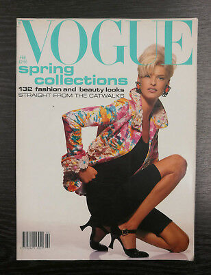 Vogue Magazine February 1991, Linda Evangelista