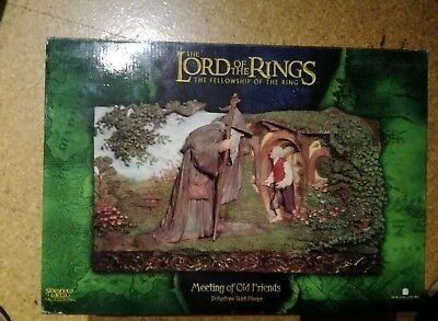 The Lord of the Rings - Sideshow Figur - Meeting of Old Friends von Weta