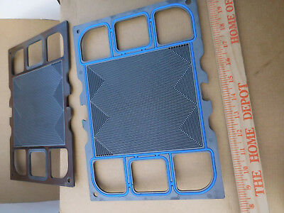Lot of 6---Used Hydrogen Fuel Cell Graphite Plates