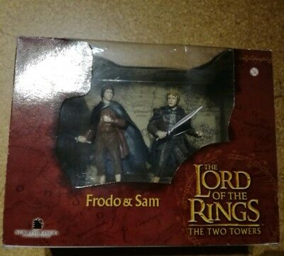 The Lord of the Rings: The Two Towers Frodo & Sam Figuren