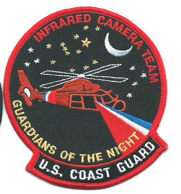 United States Coast Guard (USCG) patch Infrared camera team  4-1/2X4 in dia