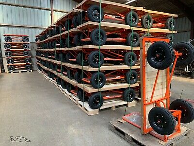 Platform Trolley Cart Heavy Duty 500kg Turntable Truck Cartabouta  UK STOCK