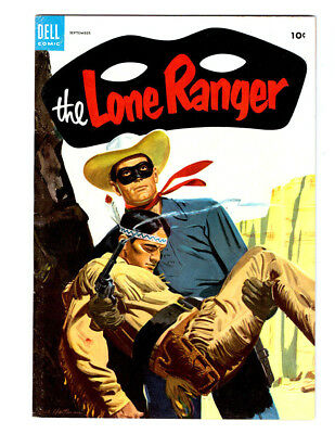 The LONE RANGER #75 in VF/NM condition 1954 DELL Golden Age western comic