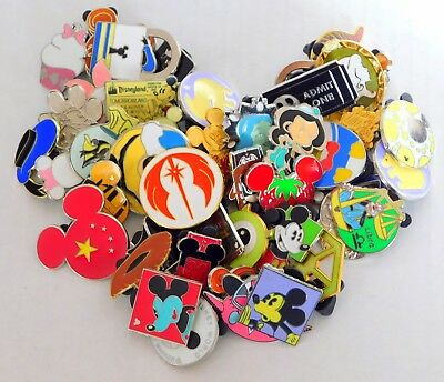 Lot of 25 Disney Trading Pins - Fast Shipping