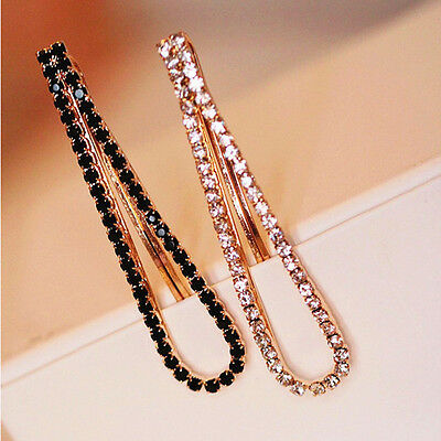 Special Women Flower Rhinestone Hair Pin Clips Barrette Comb Hairpin Bridal PLC