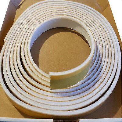 Intumescent Fire & Smoke Seal Surface Mounted 5.2M Adhesive Roll BS476 Part22