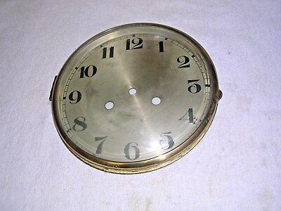 Clock  Parts ,  Large   Bezel  With  Convex  Glass