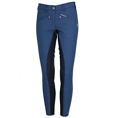 Pikeur Latina Grip Breeches ladies full seat breeches insignia blue size 36 UK 8