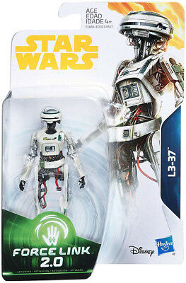 Star Wars Universe 3.75 Inch Action Figure Force Link 2.0 Wave 4 - L3-37