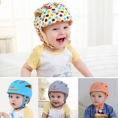 BL_ Baby Safety Adjustable Helmet Headguard Cap Protective Harnesses Hat Exquisi