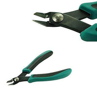 """Mazbot 5.5"""" Wire Flush Cutters---Perfect for Cutting Jewelry Making Wire"""
