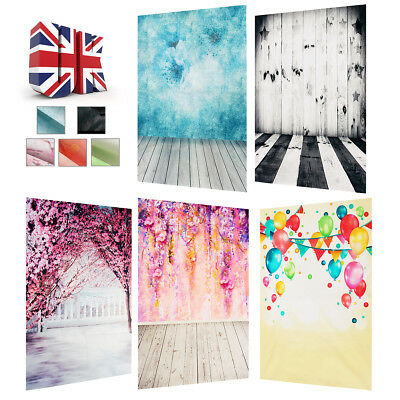 2x3FT Vintage Silk Wall Photography Backdrops Studio Photo Prop Background UK