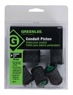 """Greenlee 610-5 Piston For 1"""" Conduit, 5 Pack"""