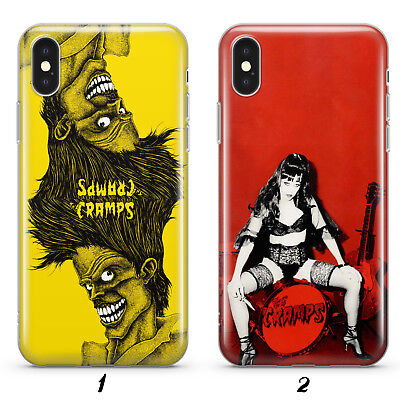 THE CRAMPS PUNK ROCK BAND CASE COVER FOR IPHONE SAMSUNG HTC HUAWEI LG phones