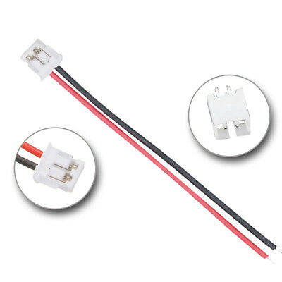 JST PH 2.00mm 2-pin Cable con Conector Macho Hembra Cable Male Female Plug 2-pin
