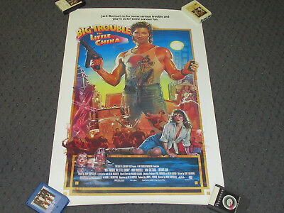 Original Big Trouble In Little China One Sheet 27 X 41 Movie Poster