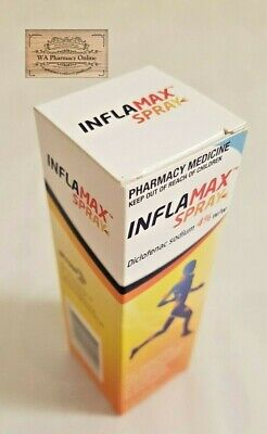 Inflamax Spray Diclofenac 4% 30ml + *Free Gift*