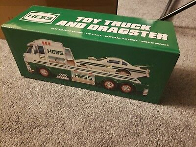 Hess 2016 Toy Truck and Dragster - New