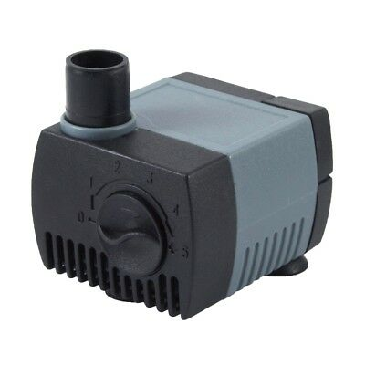 80 GPH Submersible Pump Aquarium Fish Tank Power-head Fountain Water Hydroponic