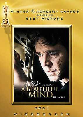 A Beautiful Mind (DVD, 2002, The Two-Disc Awards Edition, Widescreen) *NEW*