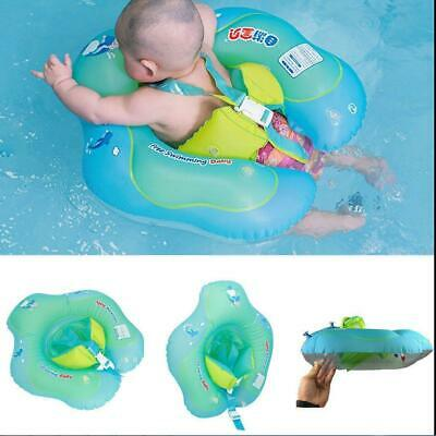 Inflatable Baby Kids Float Swimming Ring Safety Swim Trainer Water Toy Pool S-XL