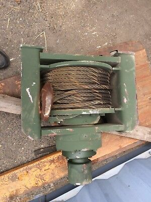 DP Manufacturing 20k-52484 Hydraulic Recovery Winch. Newly Rebuilt.