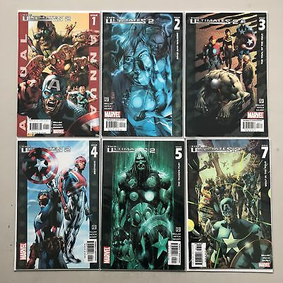 Lot of 11 Ultimates 2 (2004 2nd Series) #3-5 7-9 11-13 Annual #1 VF Very Fine