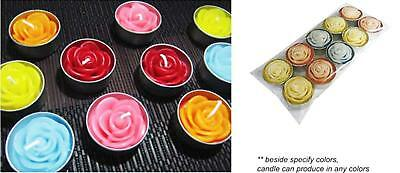 Thai Spa Candle Relaxed Aroma Candle Flower in Tealight x 1 pack