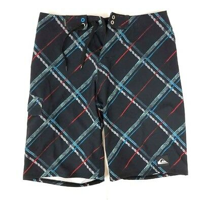 Quiksilver Boys Black Board Shorts Size 14