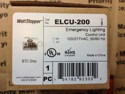 Wattstopper Elcu 200 Emergency Lighting Control Unit 120 277v Vac
