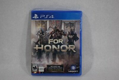 For Honor: PlayStation 4 PS4 Brand New, Factory Sealed